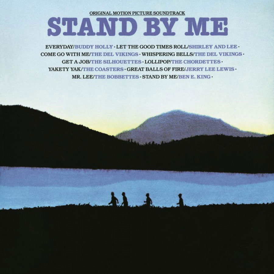 Stand By Me Soundtrack Numbered Limited Edition 180g LP (Transparent Blue Vinyl)