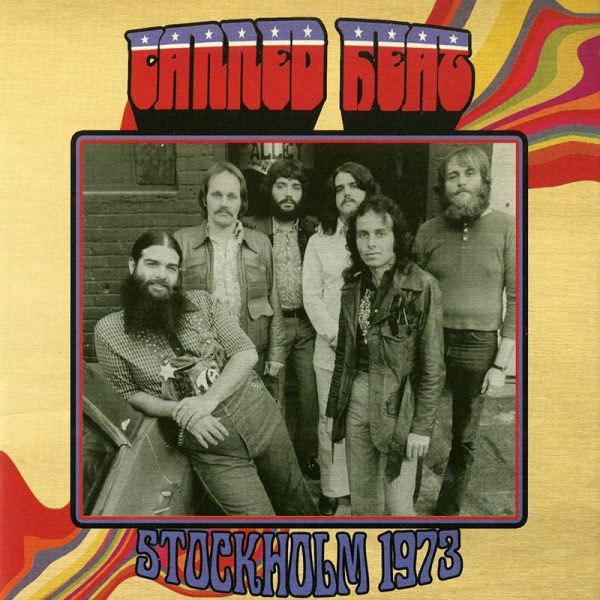 Canned Heat Stockholm 1973 LP