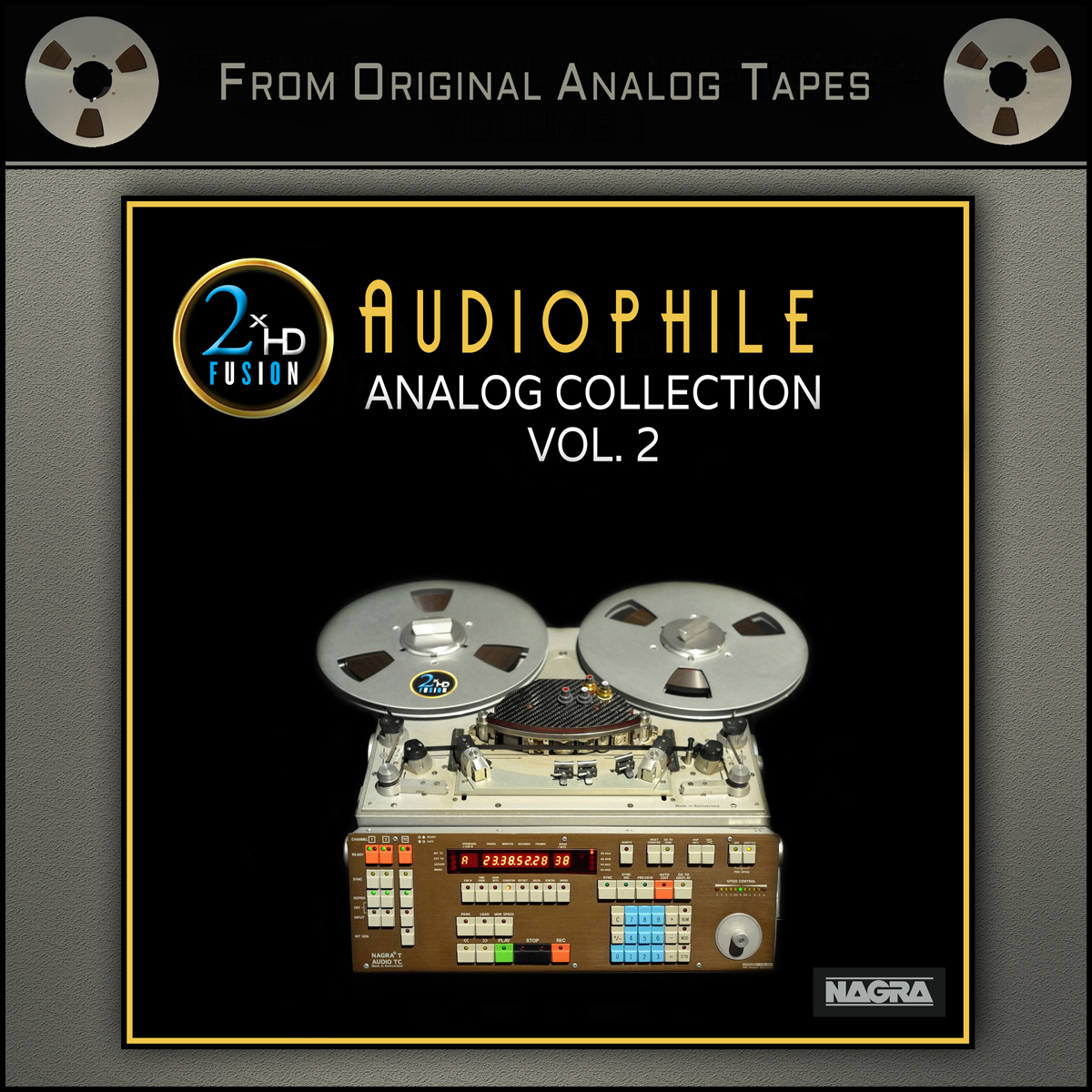Audiophile Analog Collection Vol. 2 Master Quality Reel To Reel Tape