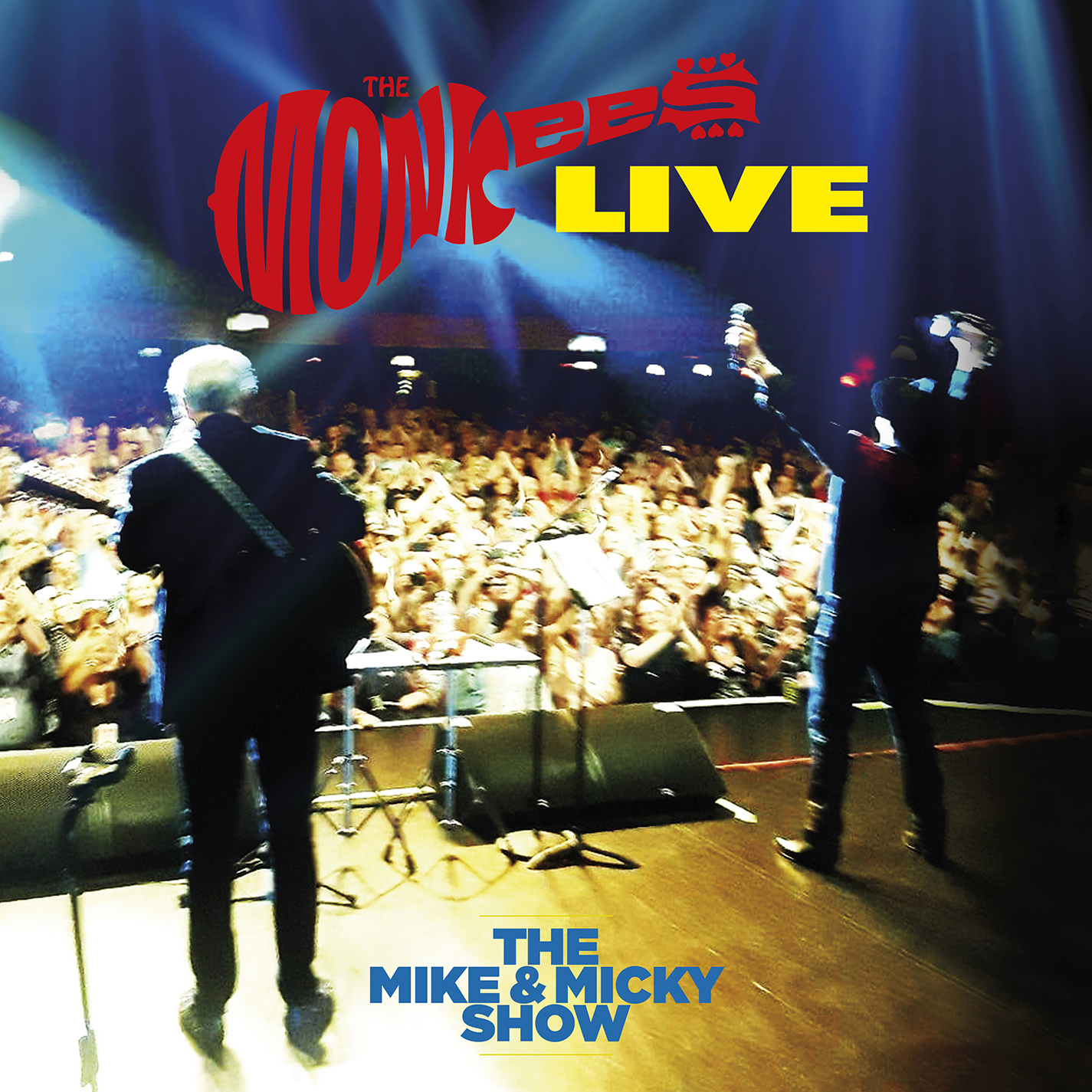The Monkees The Mike & Micky Show Live LP