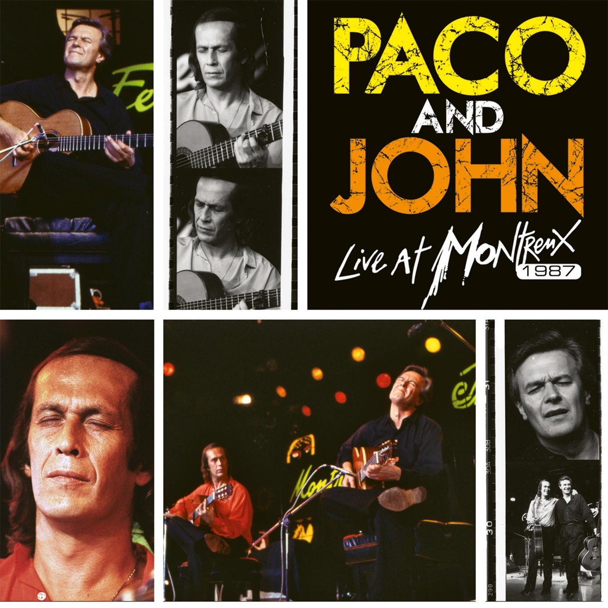 Paco de Lucia Paco and John Live at Montreux 1987 Hand-Numbered Limited Edition 180g 2LP (Yellow/Orange Vinyl)