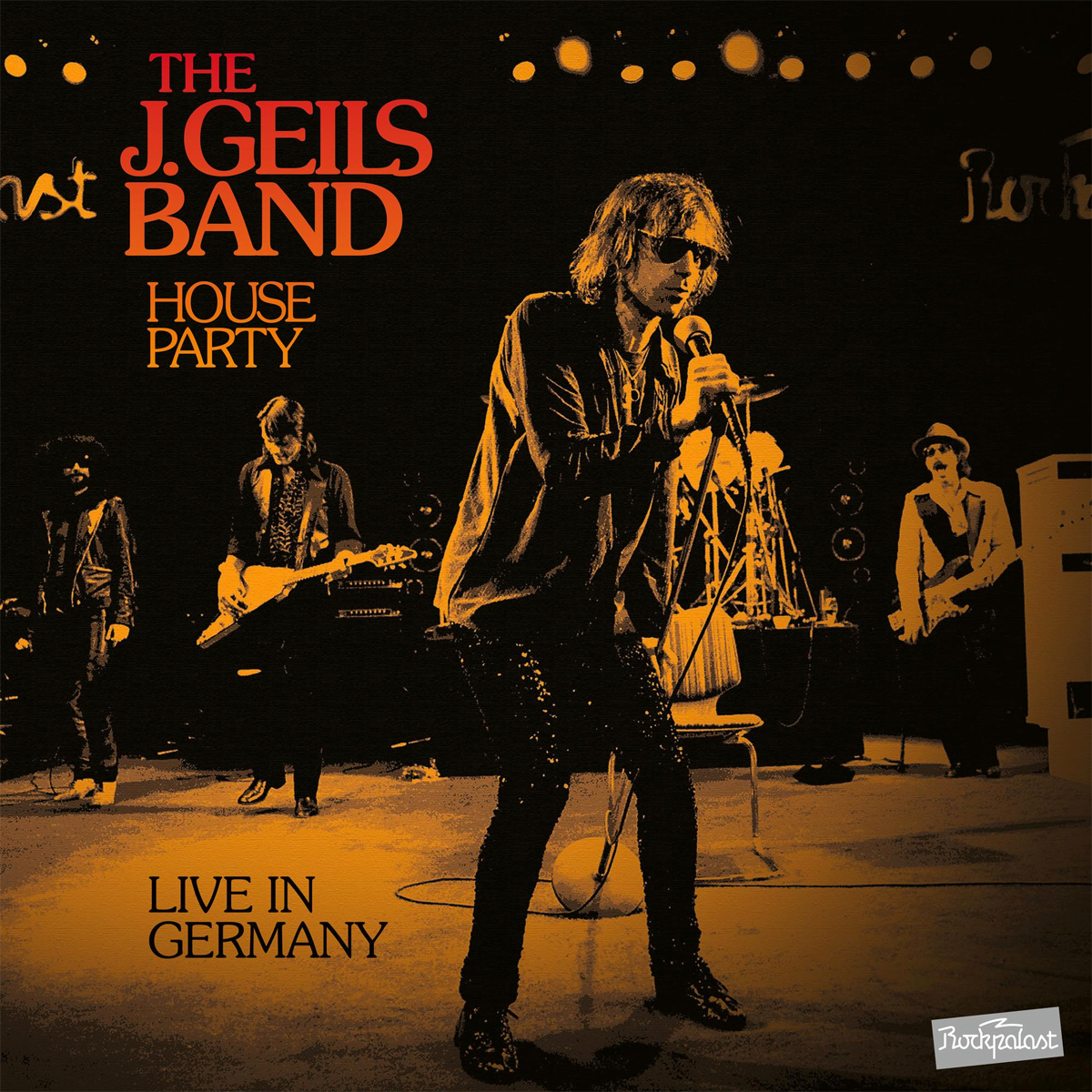 The J. Geils Band House Party: Live in Germany Numbered Limited Edition 2LP (Orange Vinyl)