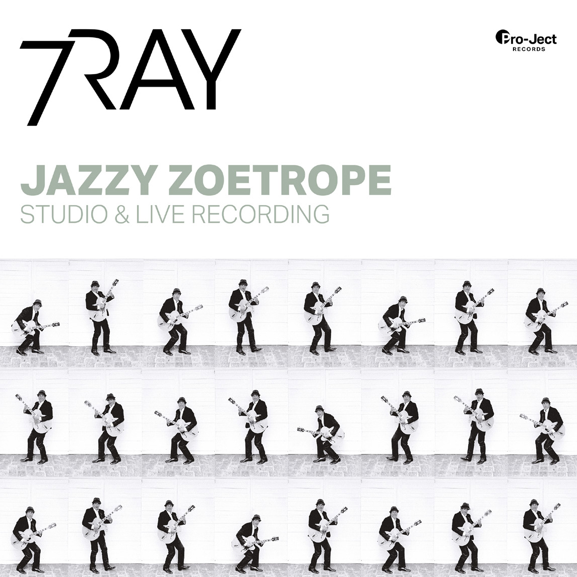 7RAY Jazzy Zoetrope: Studio & Live Recording Master Quality Reel To Reel Tape (2 Reels)
