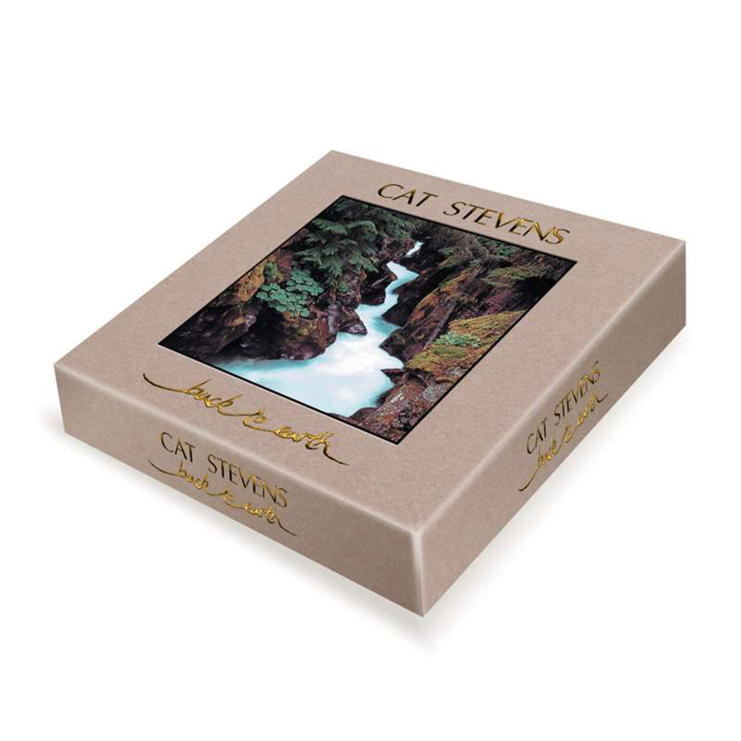Yusuf/Cat Stevens Back To Earth Numbered Limited Edition 2LP, 5CD, Blu-Ray & Book Box Set