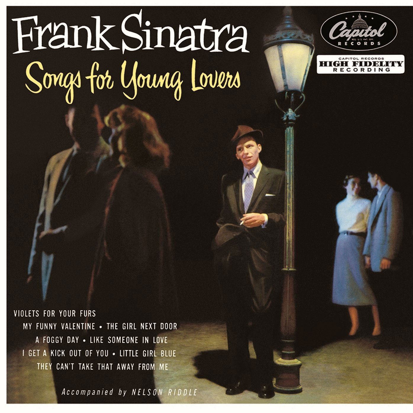 """Frank Sinatra Songs For Young Lovers 10"""" Vinyl"""