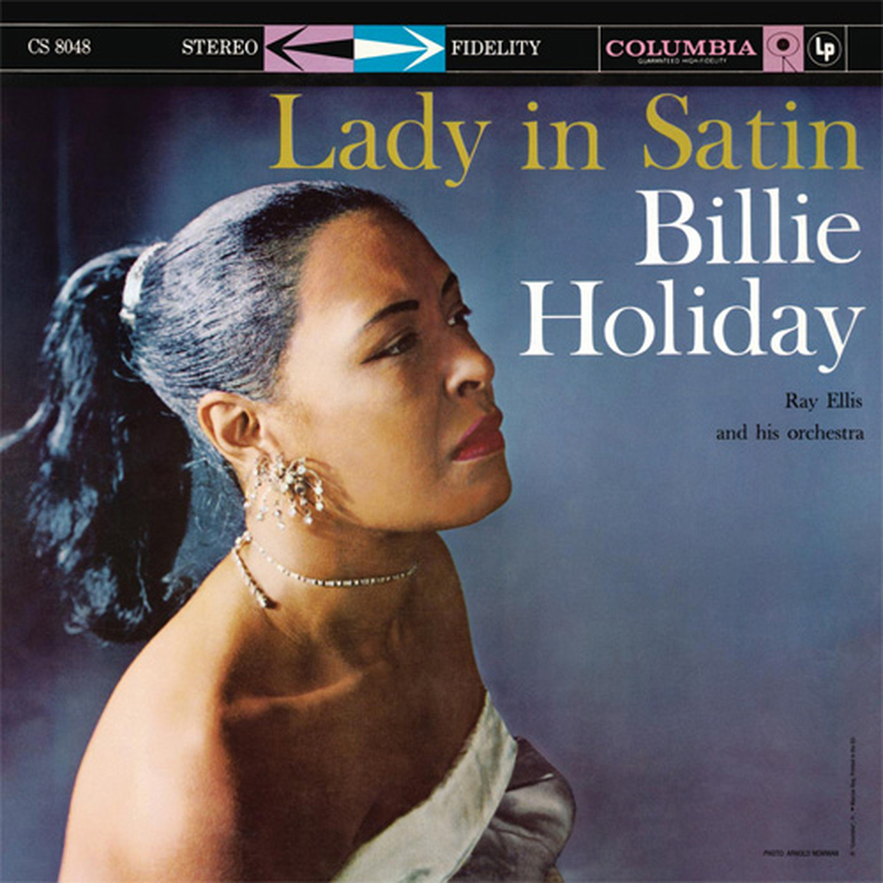 Billie Holiday Lady In Satin Import LP