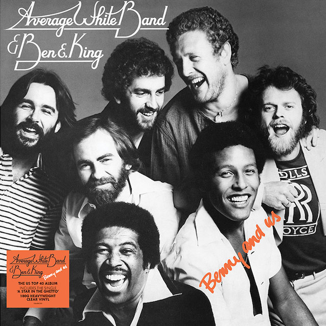 Average White Band & Ben E. King Benny And Us Import 180g LP (Clear Vinyl)