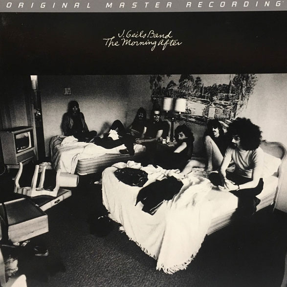 The J. Geils Band The Morning After Numbered Limited Edition Hybrid Stereo SACD Scratch & Dent
