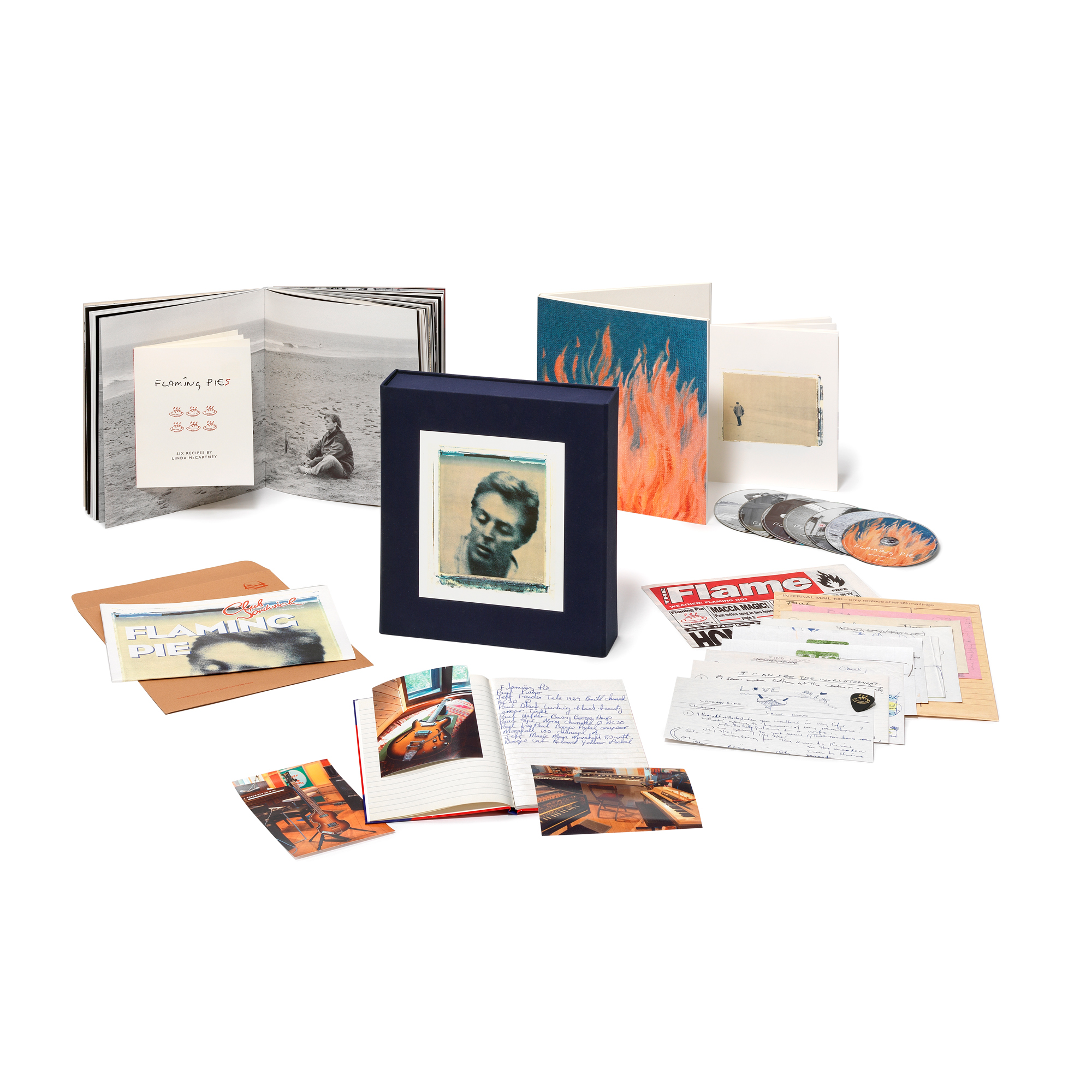 Paul McCartney Flaming Pie Deluxe Numbered, Limited Edition 5CD, 2DVD & Book Box Set