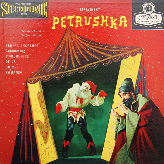 Stravinsky Petrushka Numbered Limited Edition 180g 45rpm 2LP