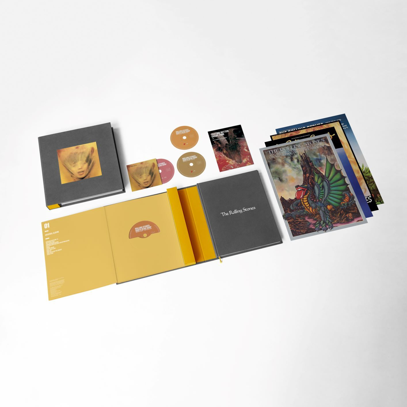 The Rolling Stones Goats Head Soup Super Deluxe 3CD & 1 Blu-Ray Box Set