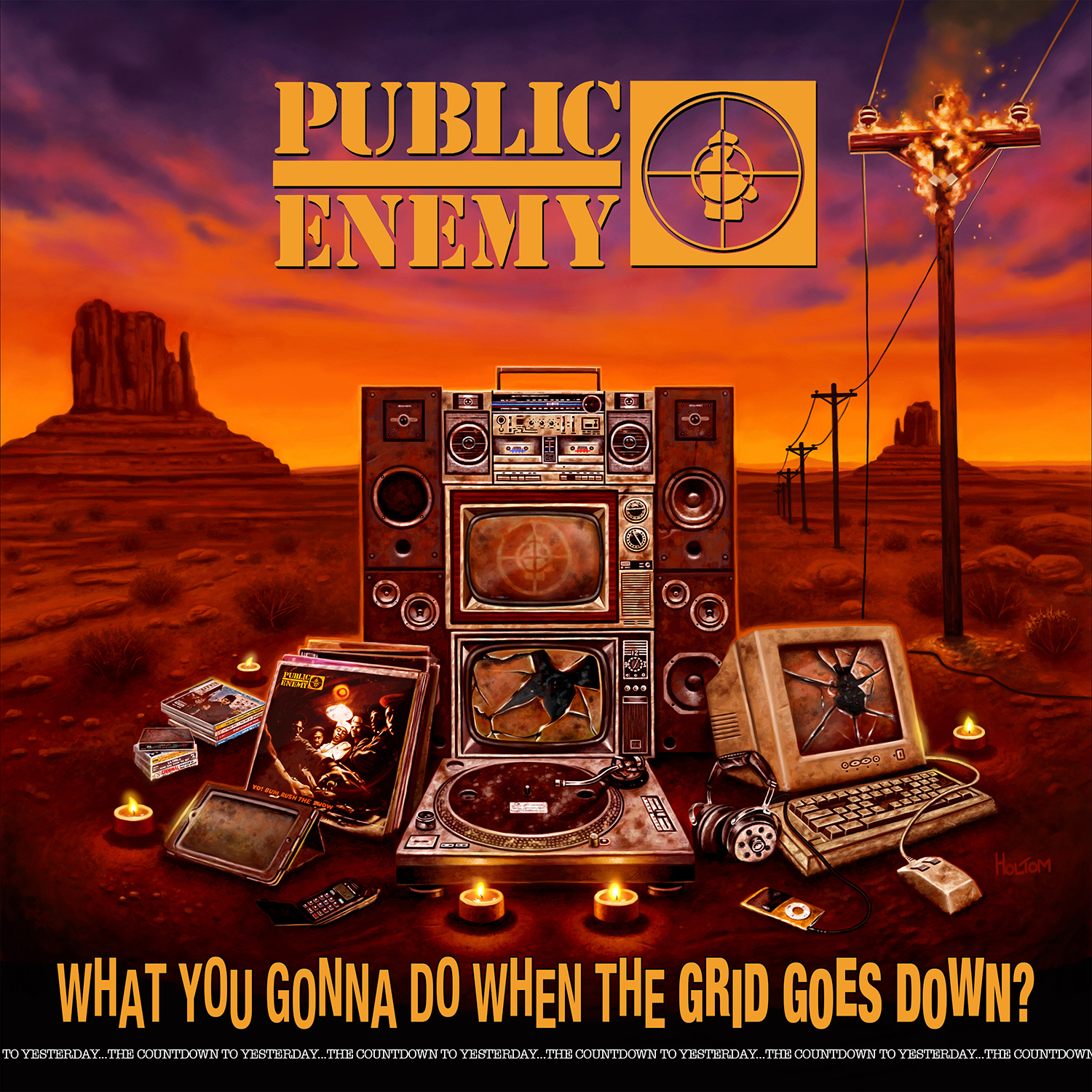 Public Enemy What You Gonna Do When The Grid Goes Down? LP