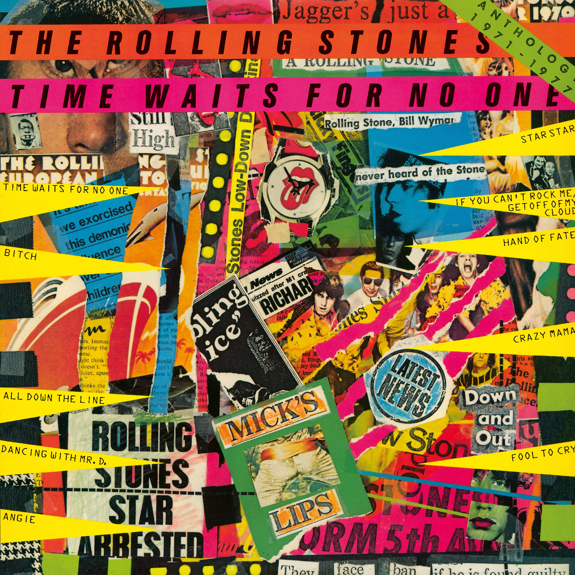 The Rolling Stones Time Waits For No One: Anthology 1971-1977 SHM-CD