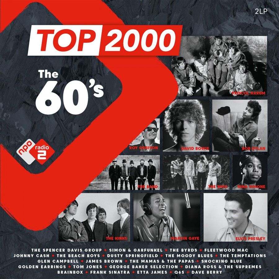 Top 2000 - The 60's Numbered Limited Edition 180g Import 2LP (Yellow Vinyl)