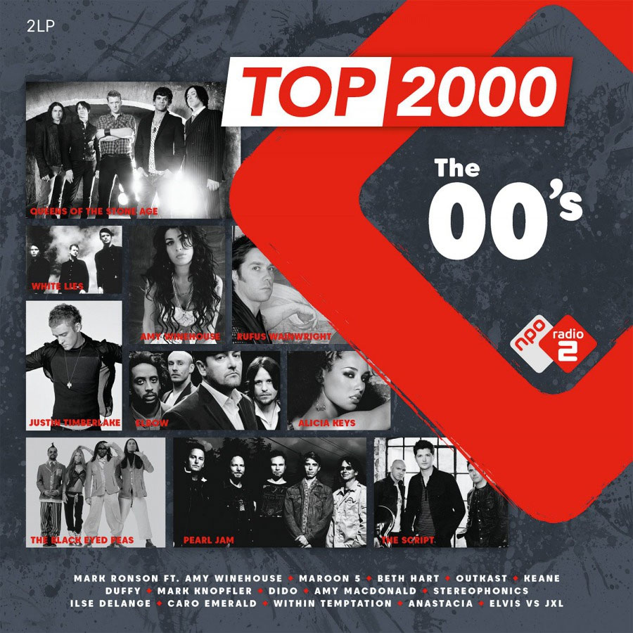 Top 2000 - The 00's Numbered Limited Edition 180g Import 2LP (Turquoise Vinyl)