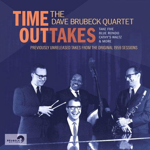 The Dave Brubeck Quartet Time OutTakes LP