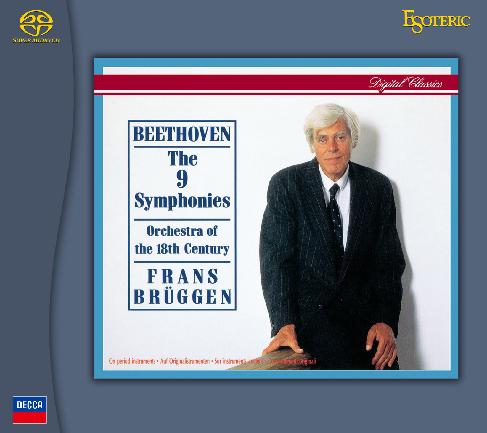 Beethoven The 9 Symphonies Hybrid Stereo Japanese Import 5SACD