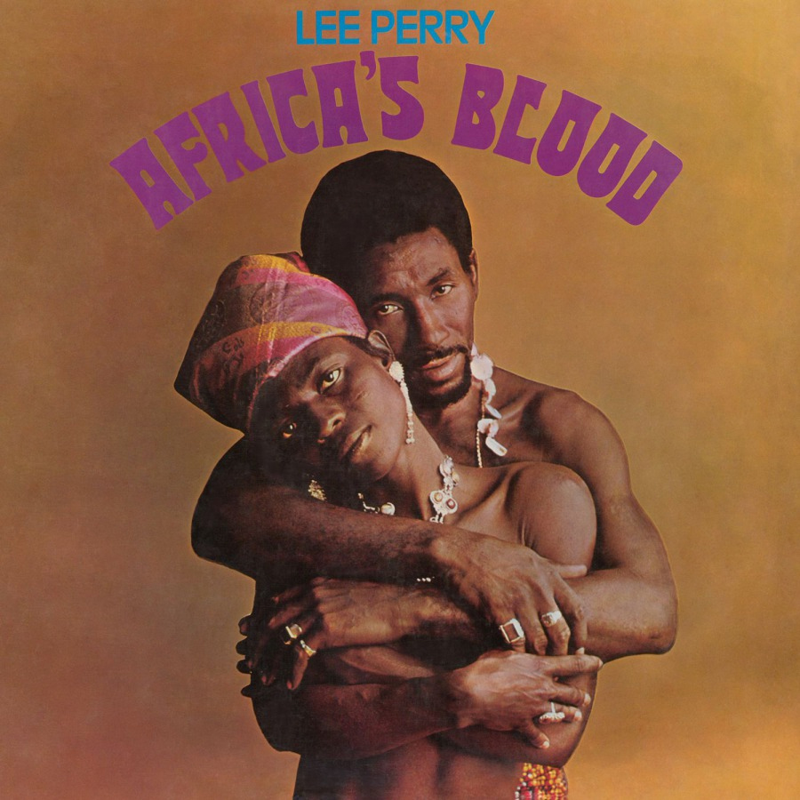 Lee Perry Africa's Blood Numbered Limited Edition 180g Import LP (Orange Vinyl)