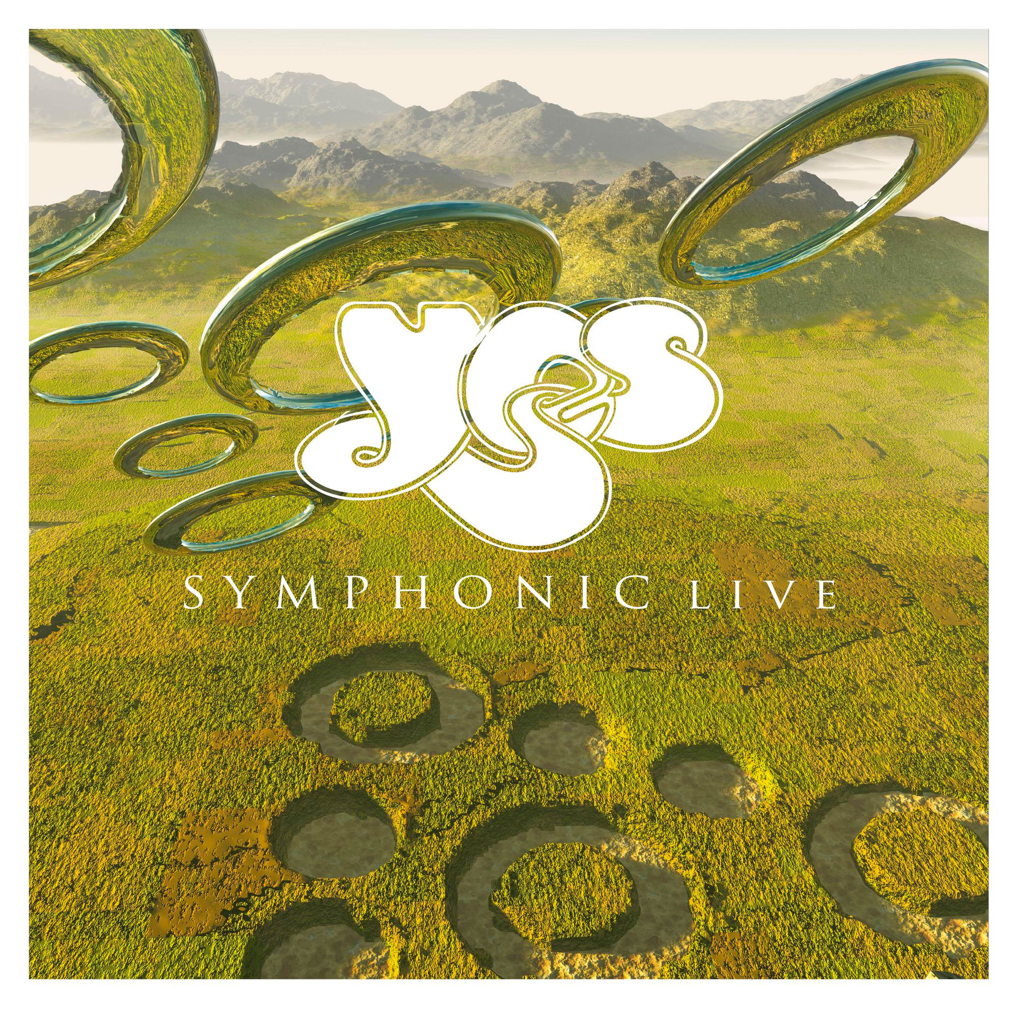 Yes Symphonic Live Numbered Limited Edition 180g 2LP & CD