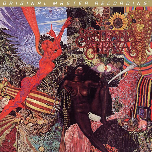 Santana Abraxas Numbered Limited Edition Hybrid Stereo SACD Scratch & Dent