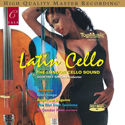 The London Cello Sound Latin Cello 180g LP Scratch & Dent