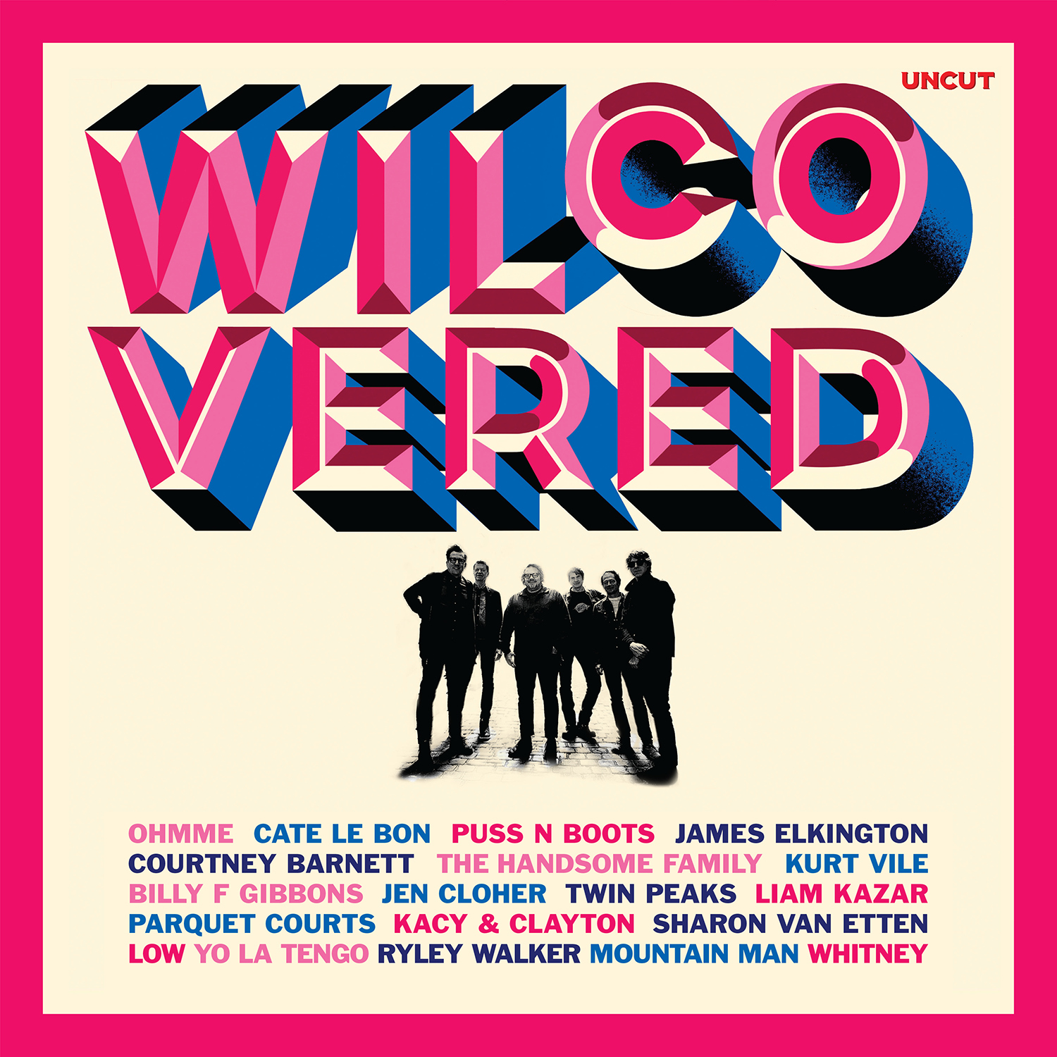 Wilcovered 2LP (Red Vinyl)