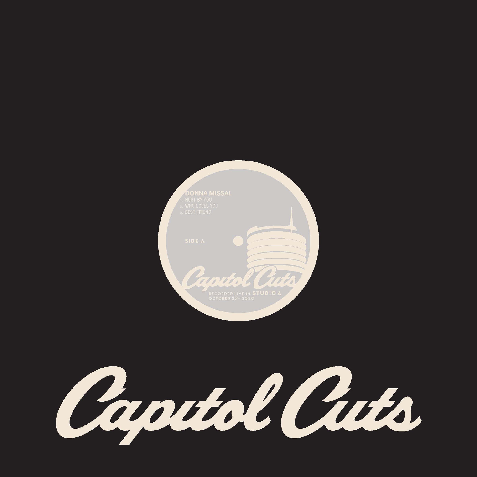 Donna Missal Capitol Cuts - Live From Studio A LP