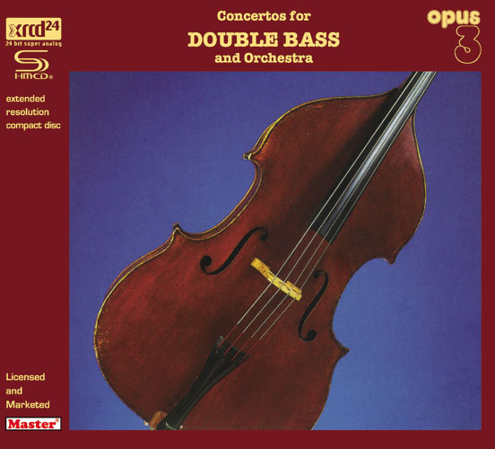 Concertos For Double Bass And Orchestra SHM-XRCD24