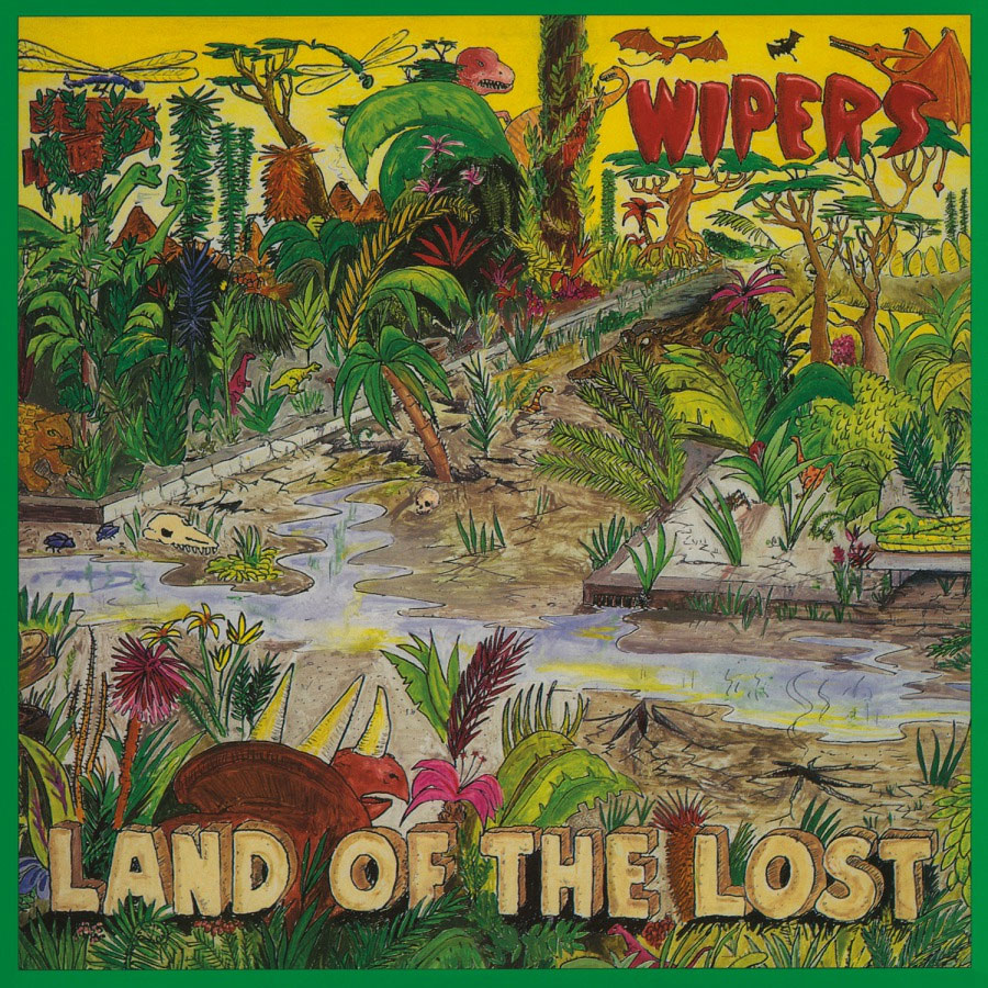 Wipers Land Of The Lost Numbered Limited Edition 180g Import LP (Yellow Vinyl)