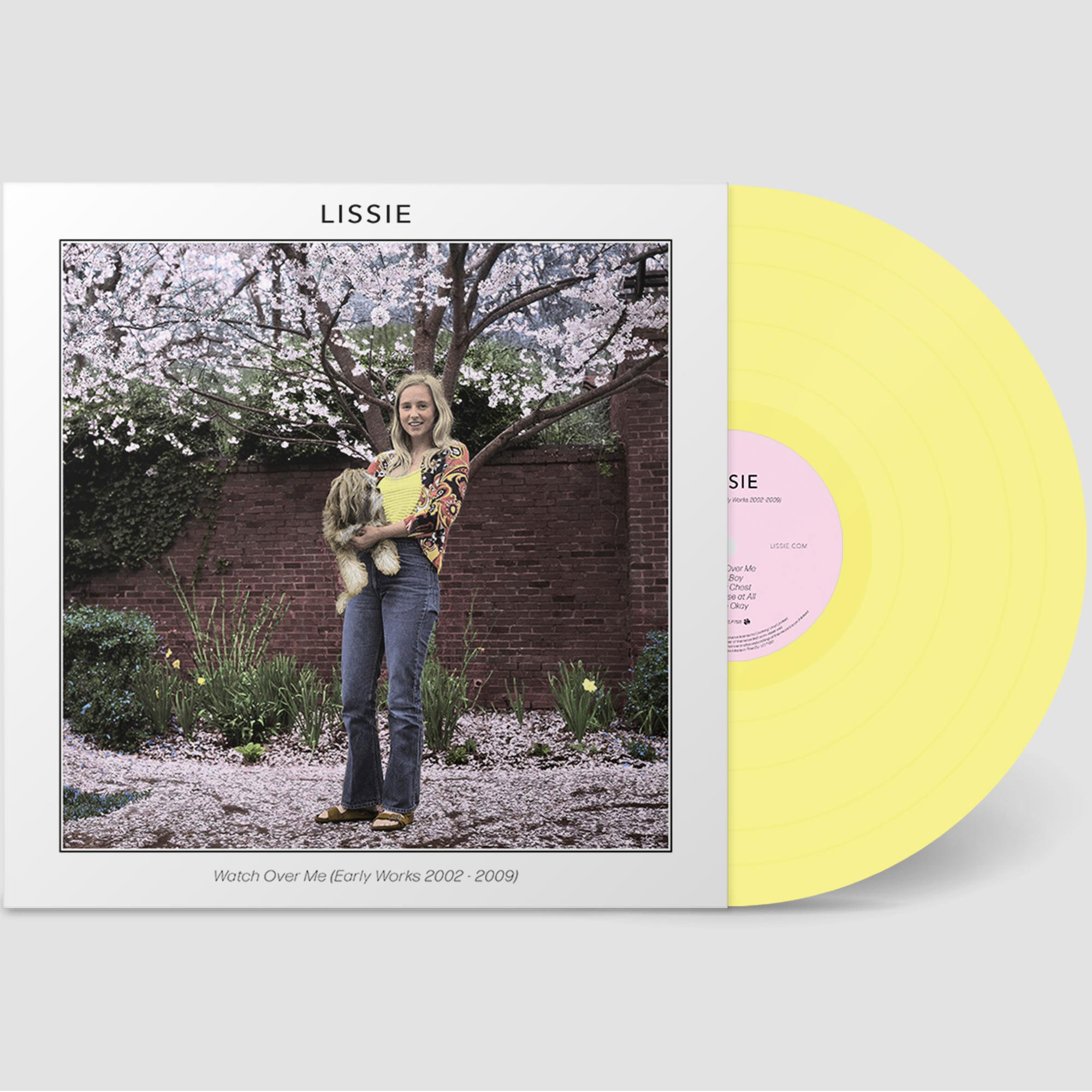 Lissie Watch Over Me (Early Works 2002-2009) LP (Easter Yellow Vinyl)
