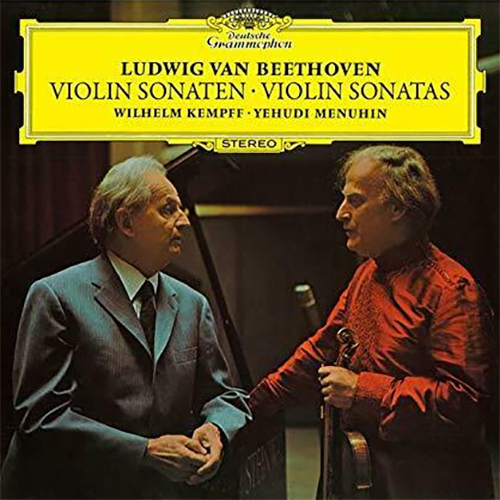 Yehudi Menuhin Beethoven 10 Violin Sonatas Single-Layer Stereo Japanese Import SHM-3SACD