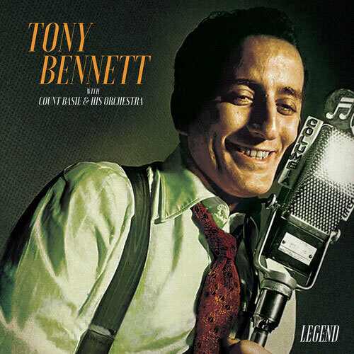 Tony Bennett with Count Basie & His Orchestra Legend LP (Gold Vinyl)