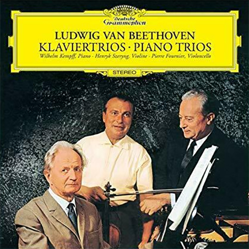 Wilhelm Kempff, Henryk Szeryng & Pierre Fournier Beethoven Piano Trios Single-Layer Stereo Japanese Import SHM-3SACD