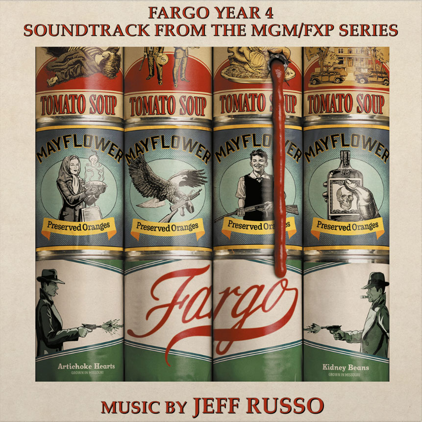 Jeff Russo Fargo Year 4: Soundtrack From The MGM/FXP Series Import 180g 2LP (Translucent Red & Translucent Green Vinyl)