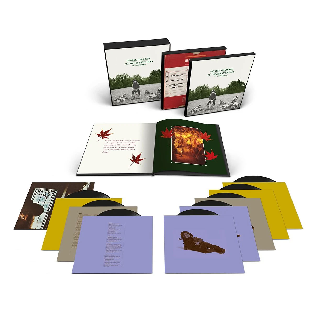 George Harrison All Things Must Pass 180g Super Deluxe 8LP Box Set