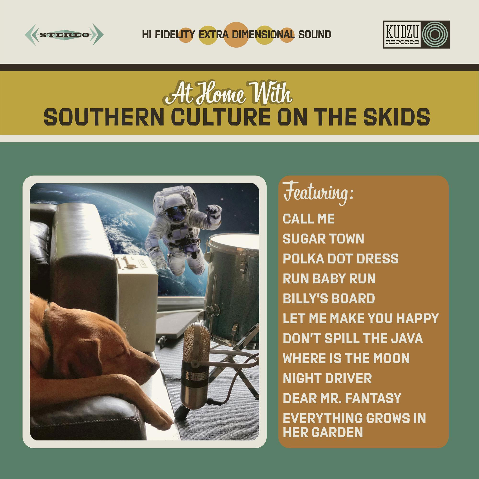 Southern Culture On The Skids At Home With Southern Culture On The Skids LP