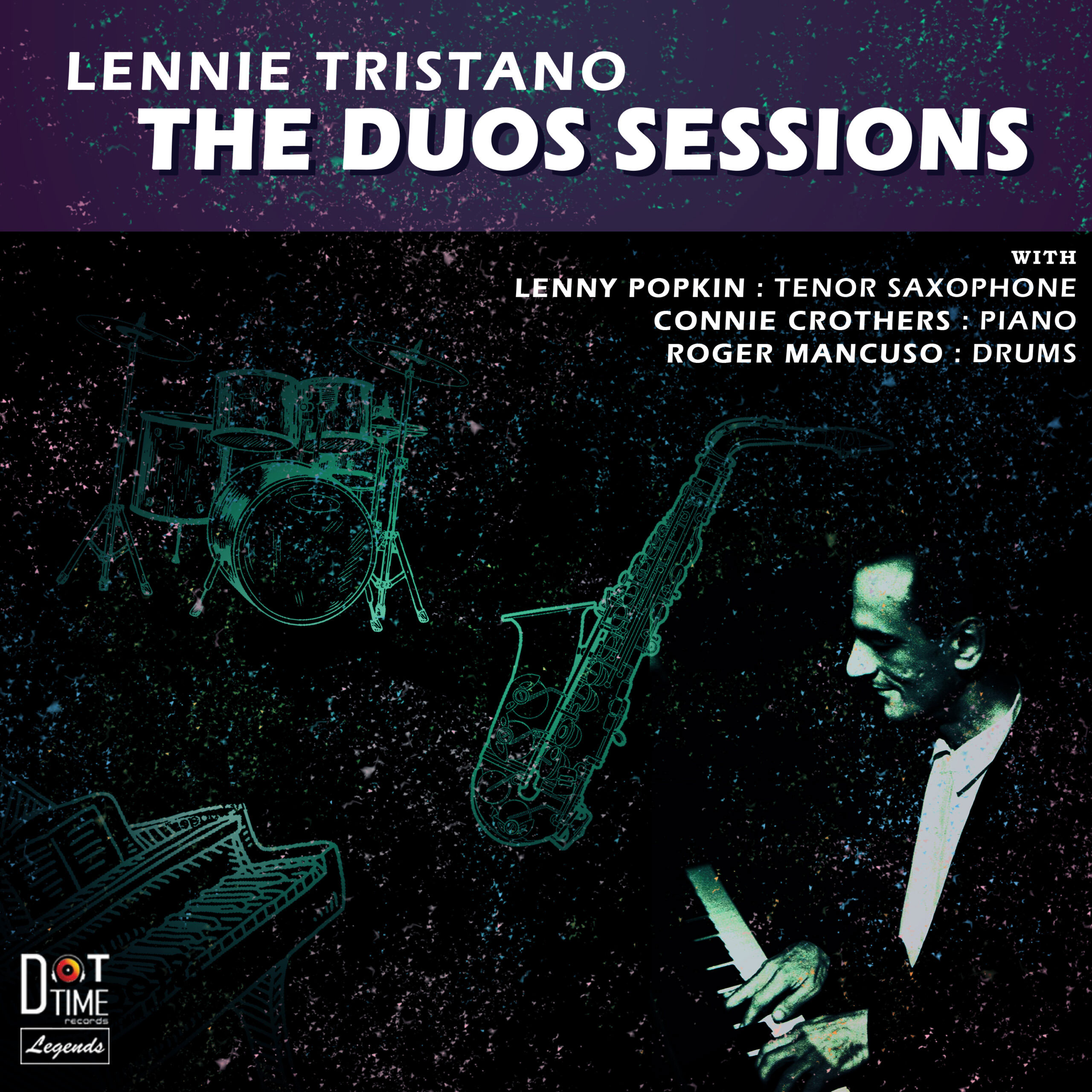 Lennie Tristano The Duos Sessions Hand-Numbered Limited Edition LP