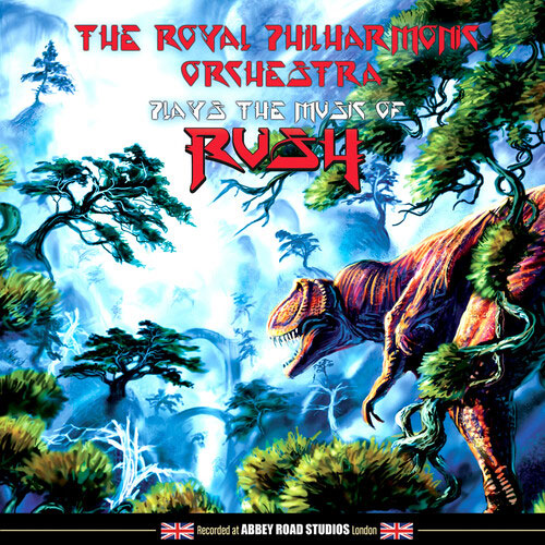 The Royal Philharmonic Orchestra Plays The Music Of Rush LP (Color Vinyl)