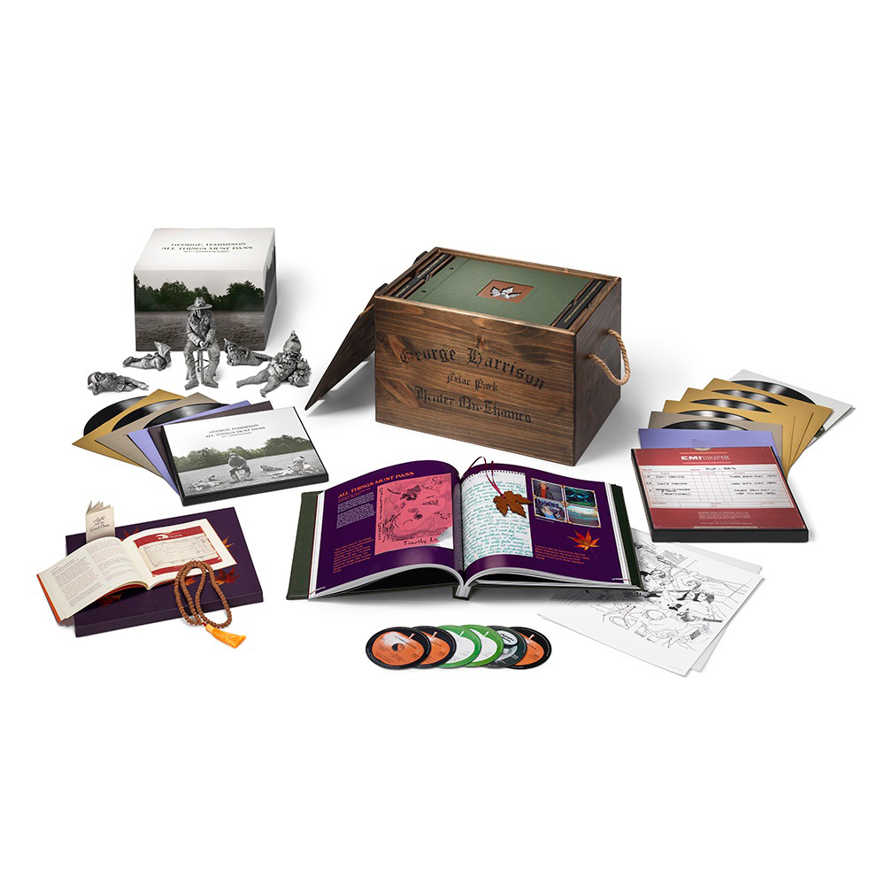 George Harrison All Things Must Pass 180g Uber Deluxe 8LP, 5CD & 1 Blu-Ray Audio Box Set