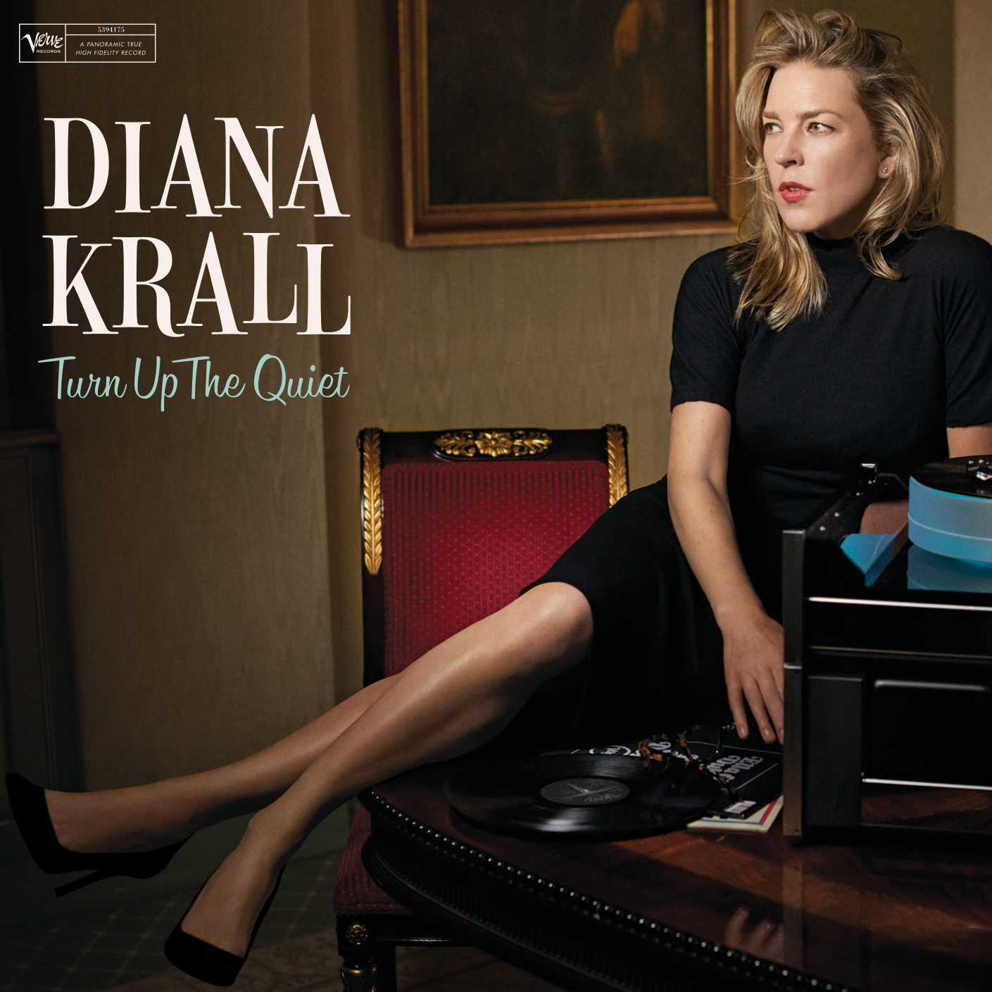 Diana Krall Turn Up The Quiet Numbered Limited Edition Hybrid Stereo Japanese Import SACD