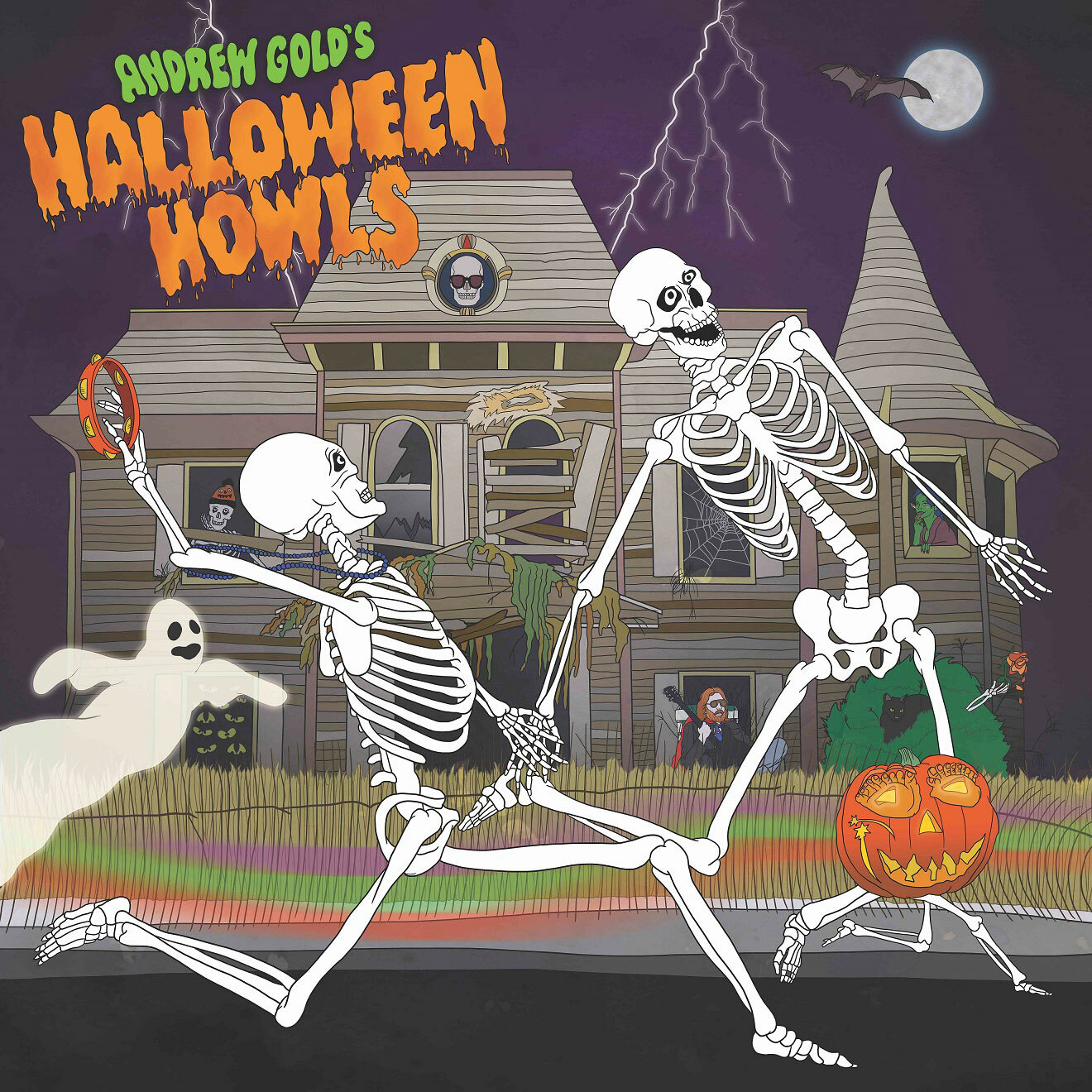 Andrew Gold Halloween Howls: Fun & Scary Music! LP