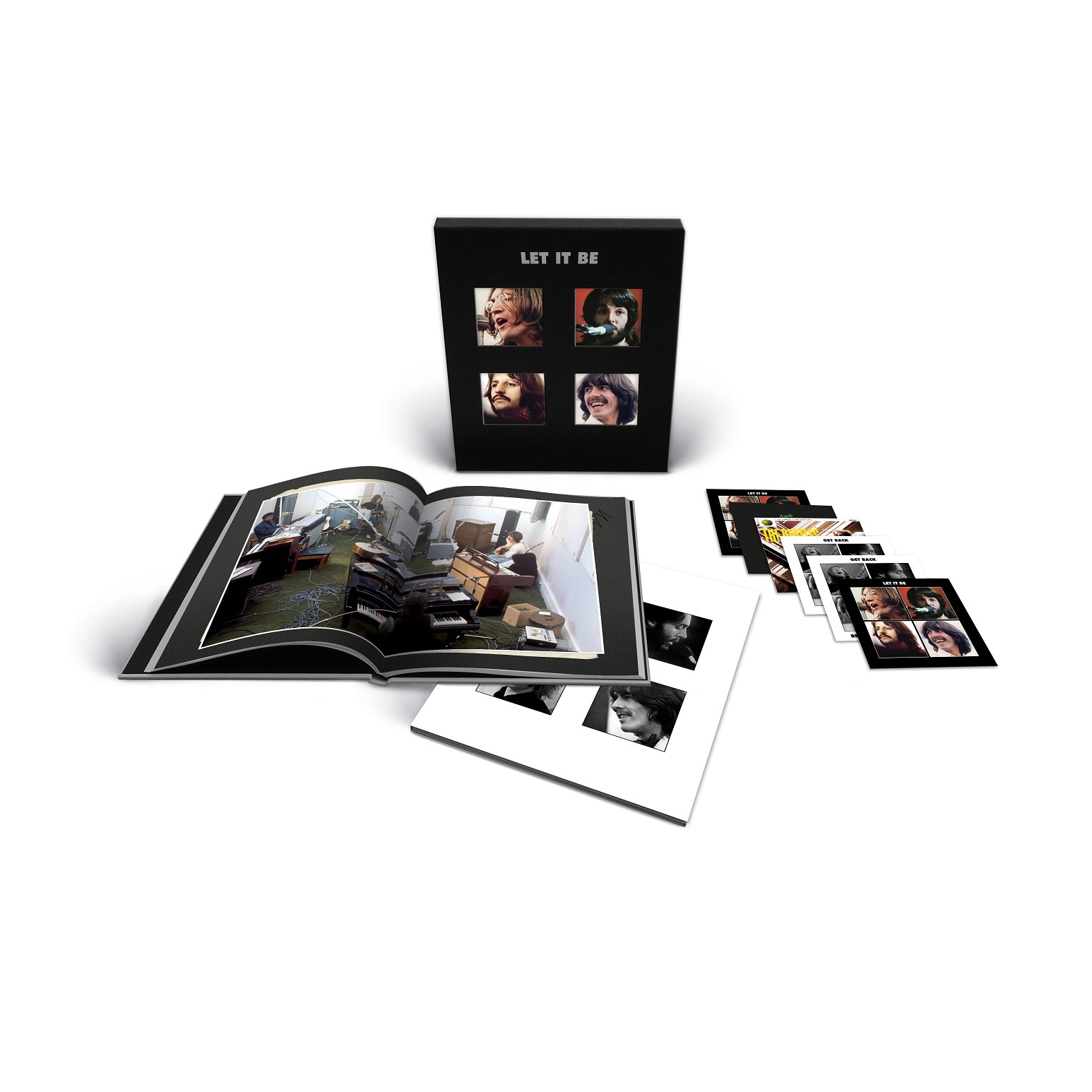 The Beatles Let It Be (Special Edition) Super Deluxe 5CD & Blu-Ray Audio Box Set