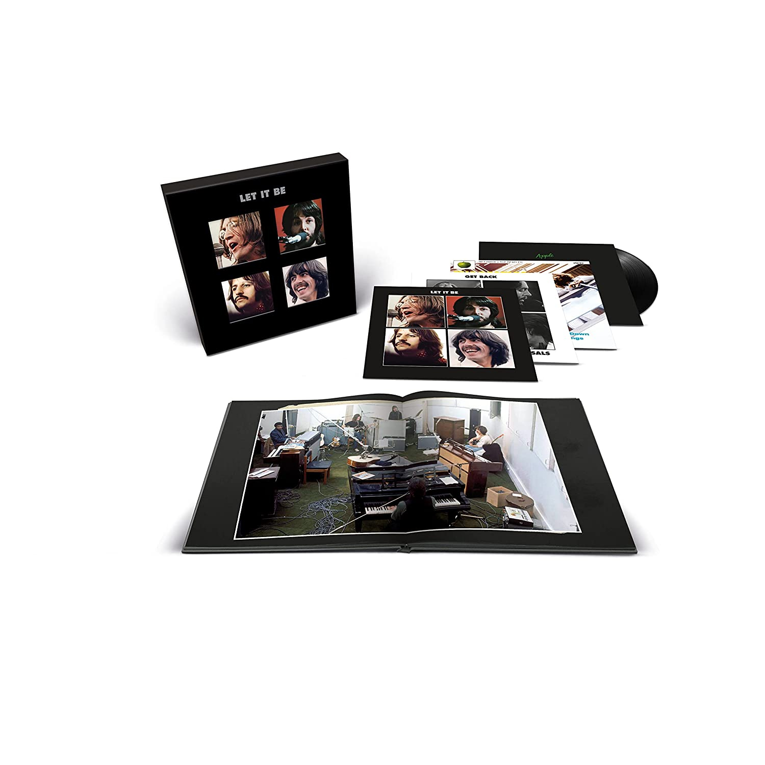 """The Beatles Let It Be (Special Edition) Super Deluxe Half-Speed Mastered 180g 4LP & 45rpm 12"""" Vinyl EP Box Set"""