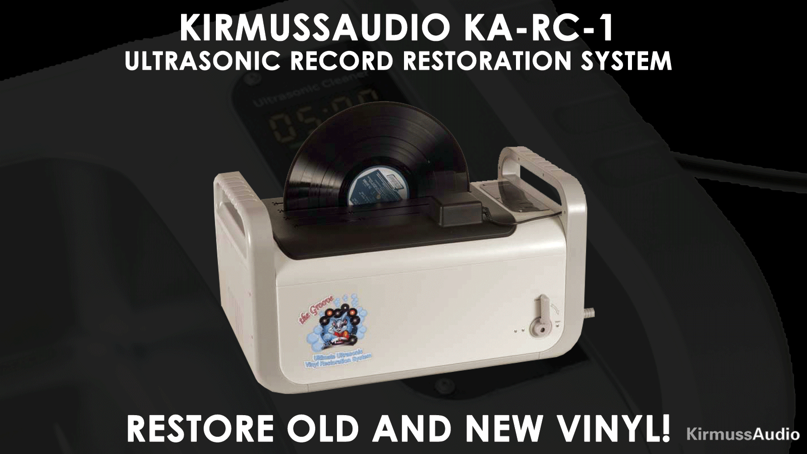 Shop Kirmuss KA-RC-1 Record Cleaner