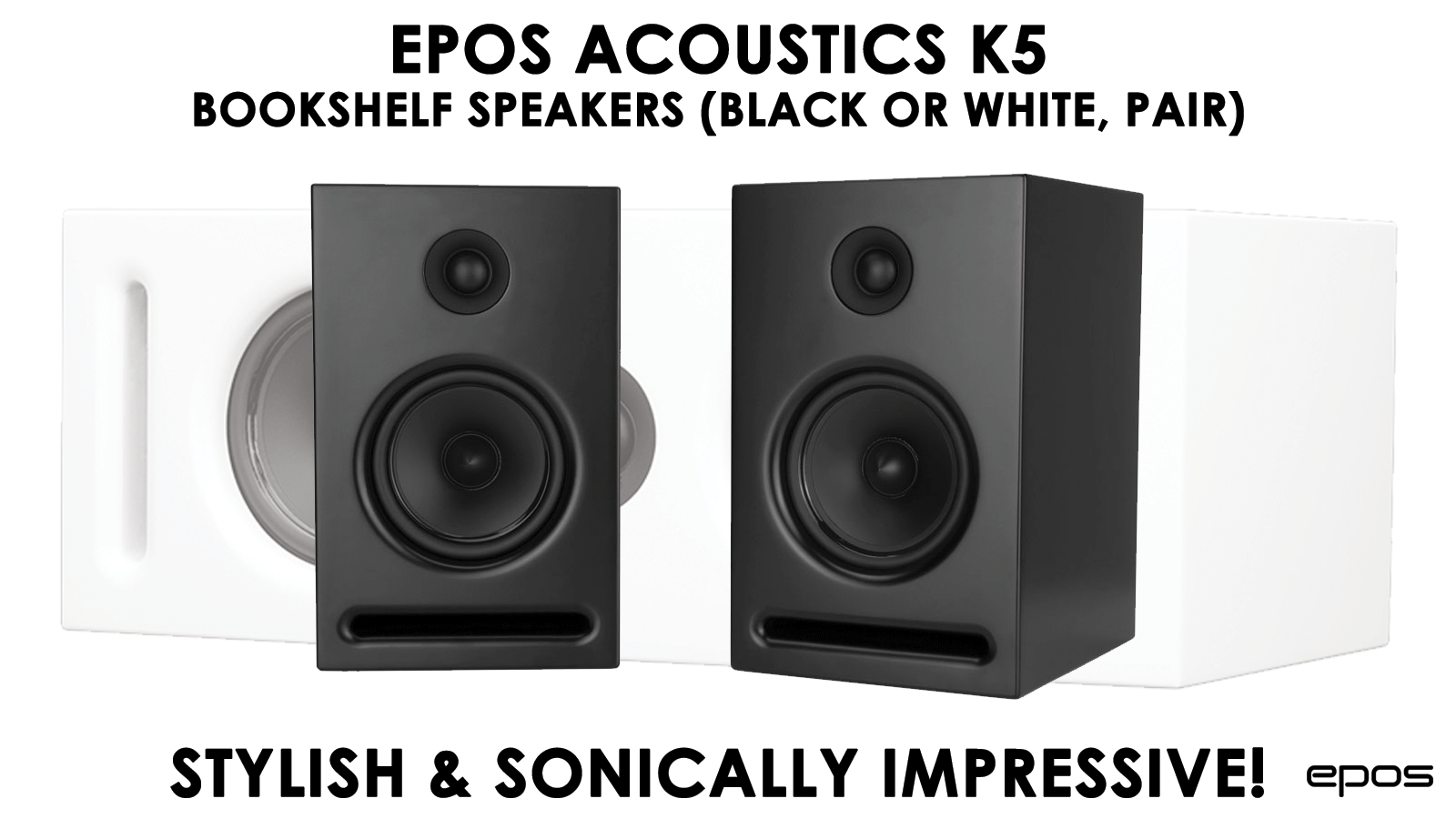 EPOS K5 Bookshelf Speakers