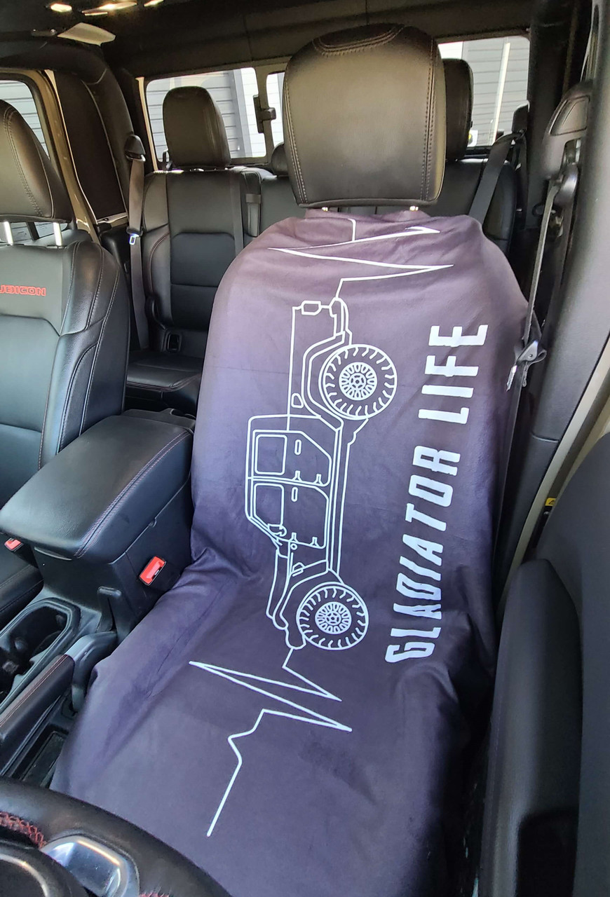 Jeep Gladiator Life Seat Cover Towel