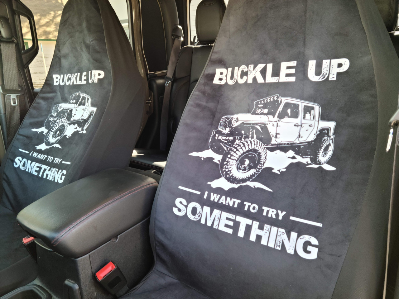 Jeep Gladiator Front Seat Covers
