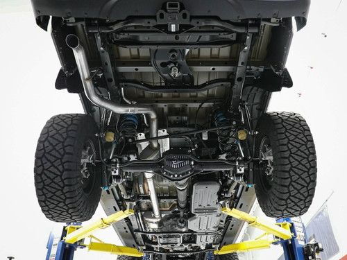 """Afe Mach Force-Xp 3"""" Hi-Tuck 409 Stainless Steel Cat-Back Exhaust System"""