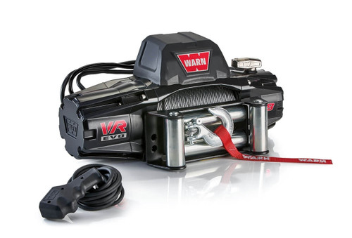 WARN VR EVO Series Winch 8,000lb with Steel Cable