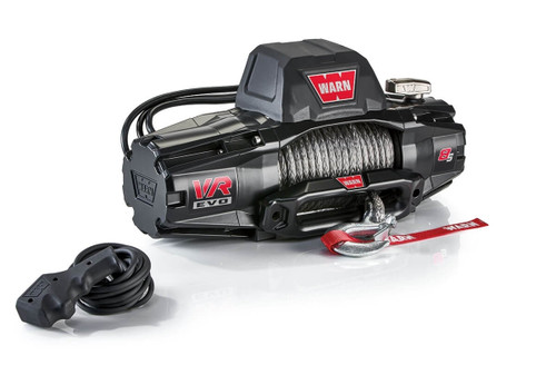 WARN VR EVO Series Winch 8,000lb with Synthetic Rope